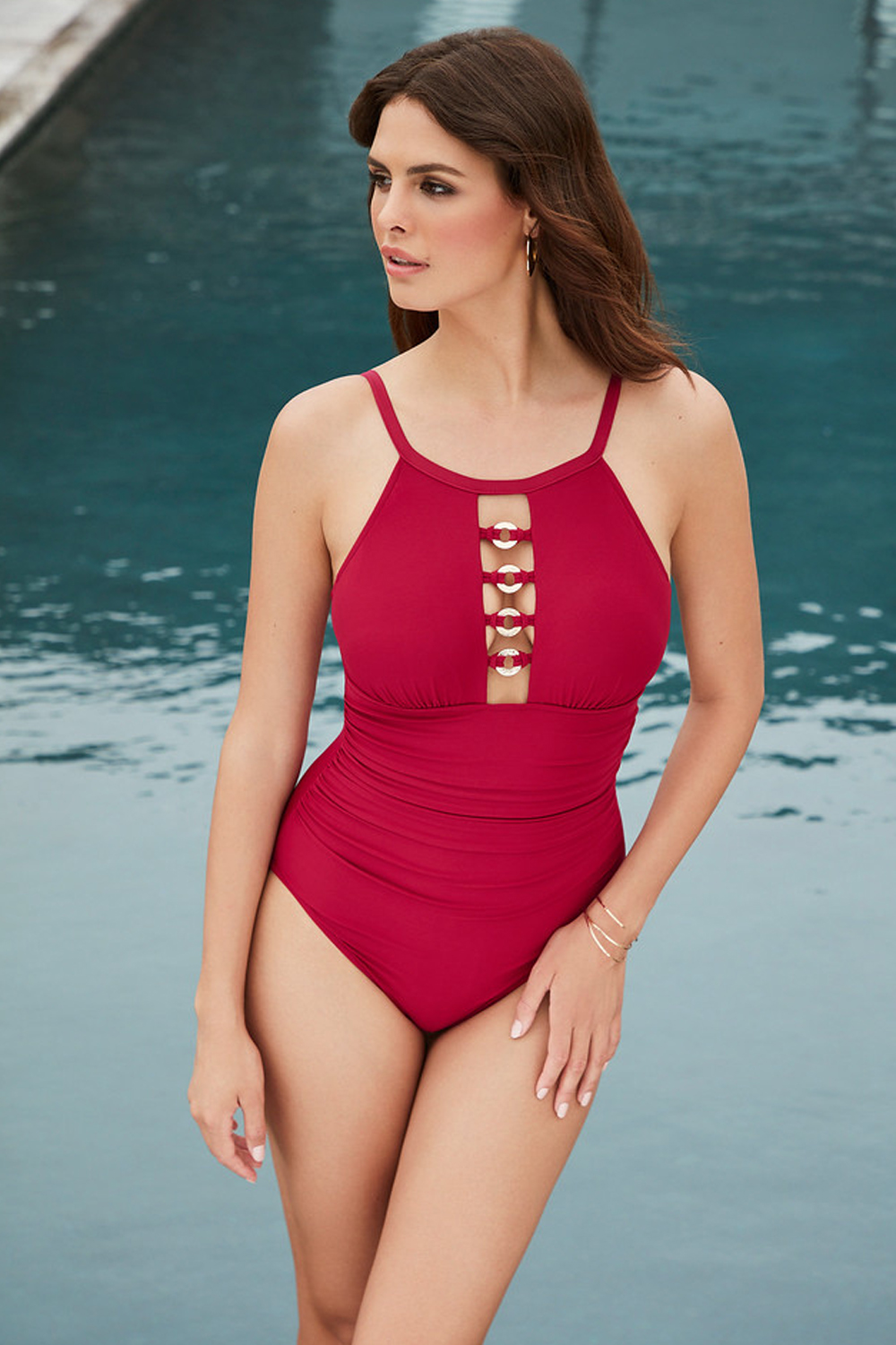 Magicsuit Put A Ring On It Poppy One Piece Swimsuit